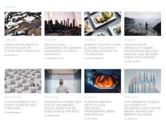 Notable - Blog website template view