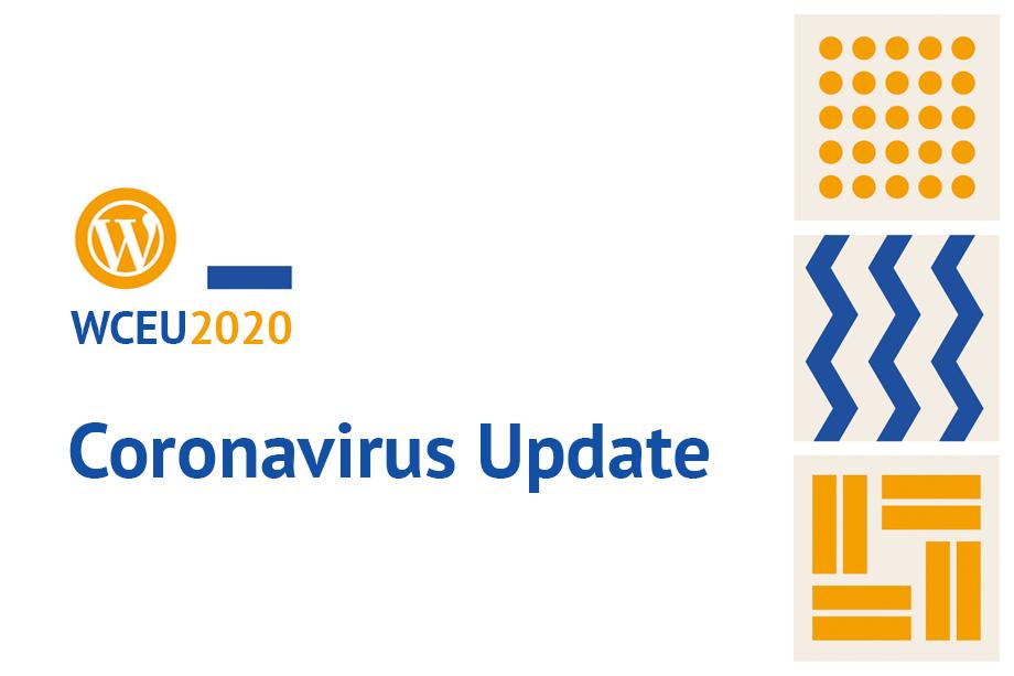 WordCamp Europe 2020 Coronavirus Update