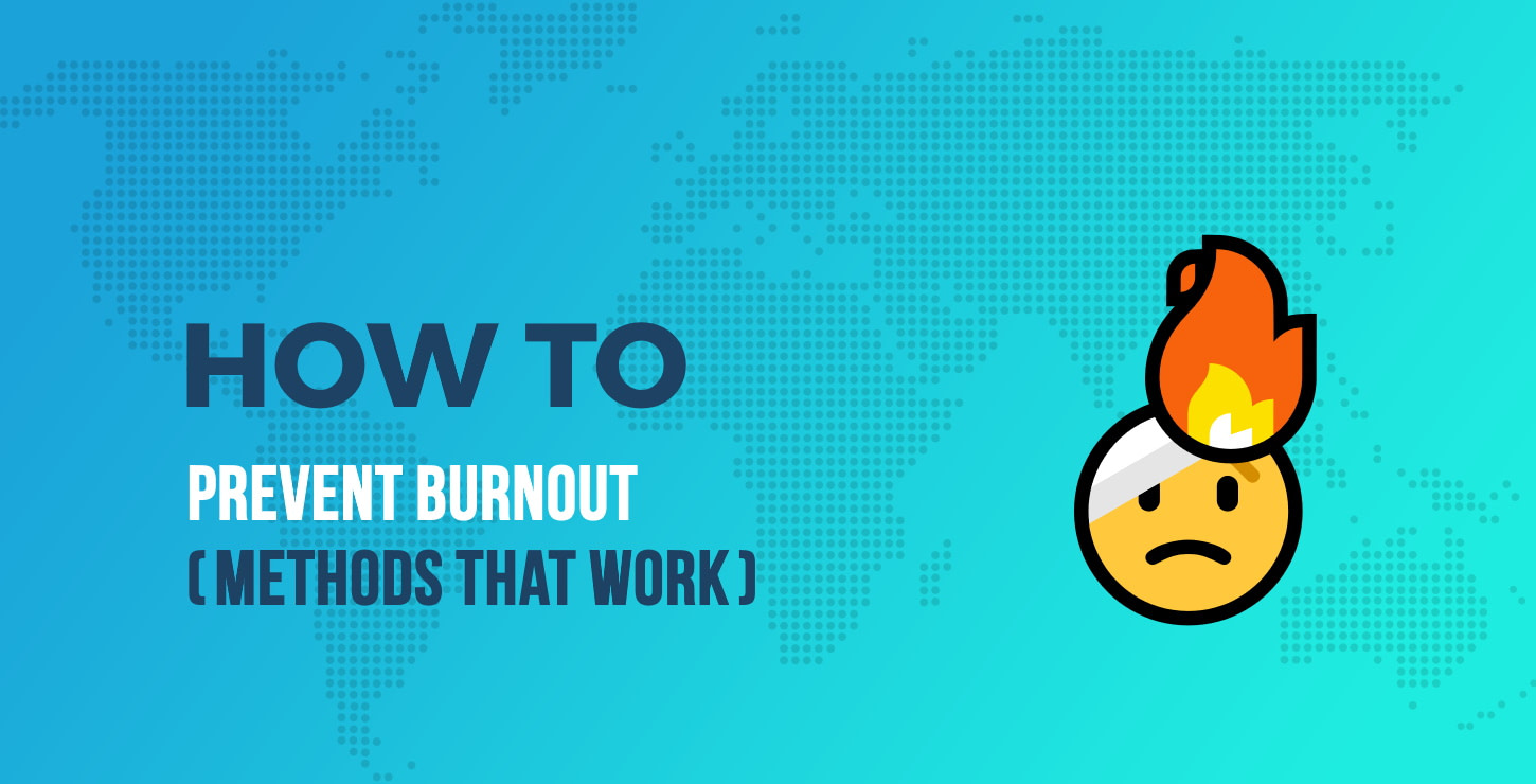 How to prevent burnout