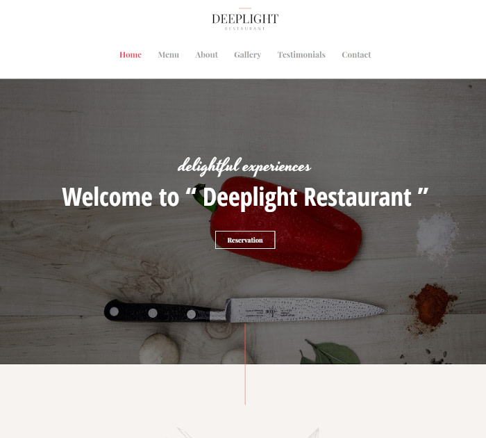 Best food delivery WordPress themes: Astra