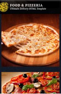 Food & Pizzeria on mobile