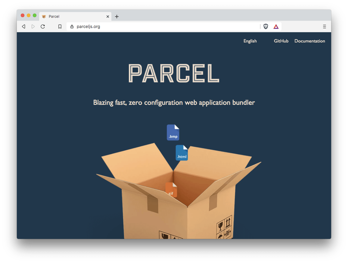 Parcel.js website