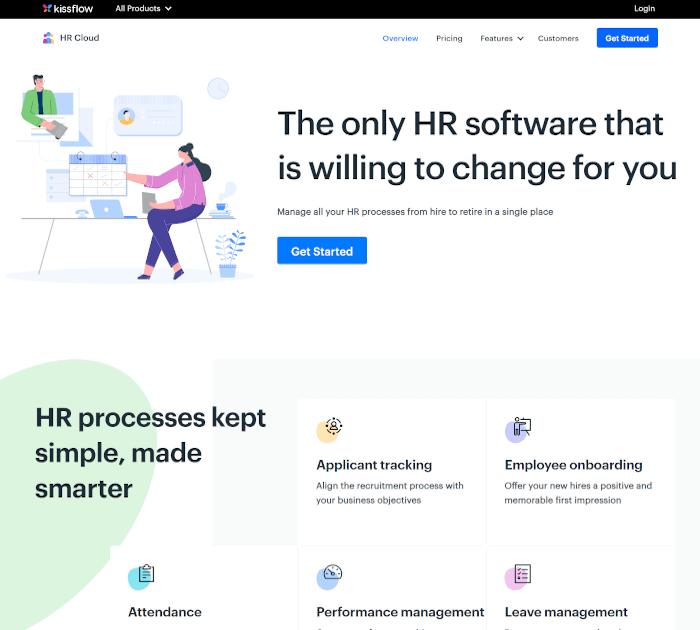 Best HR Software: Kissflow