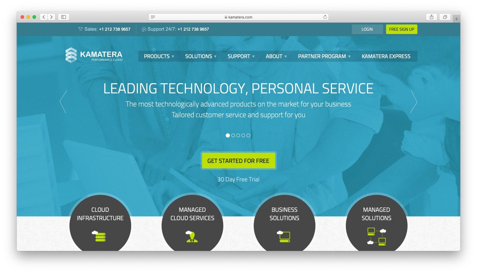 DigitalOcean alternatives: Kamatera