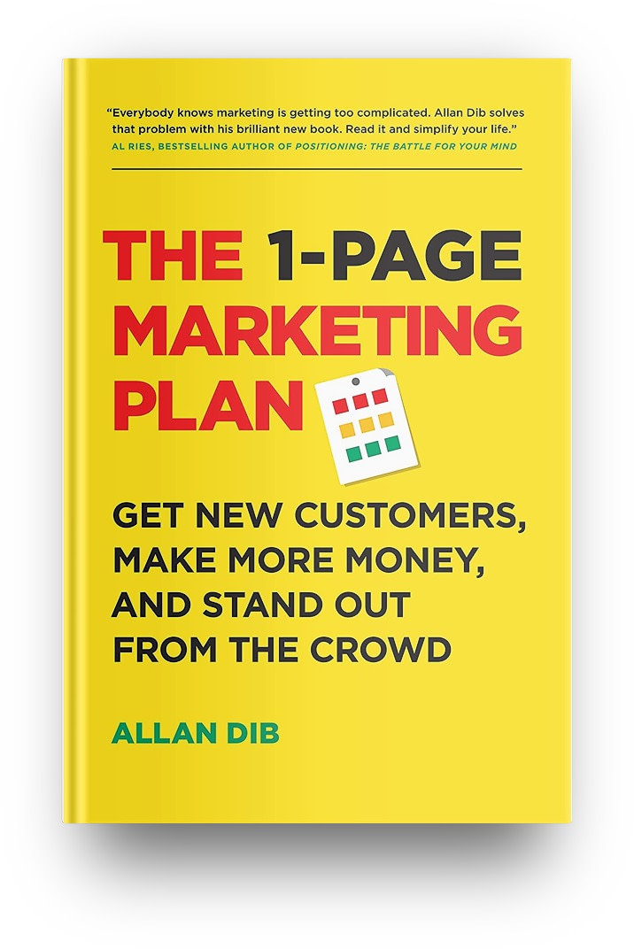 one-page marketing plan