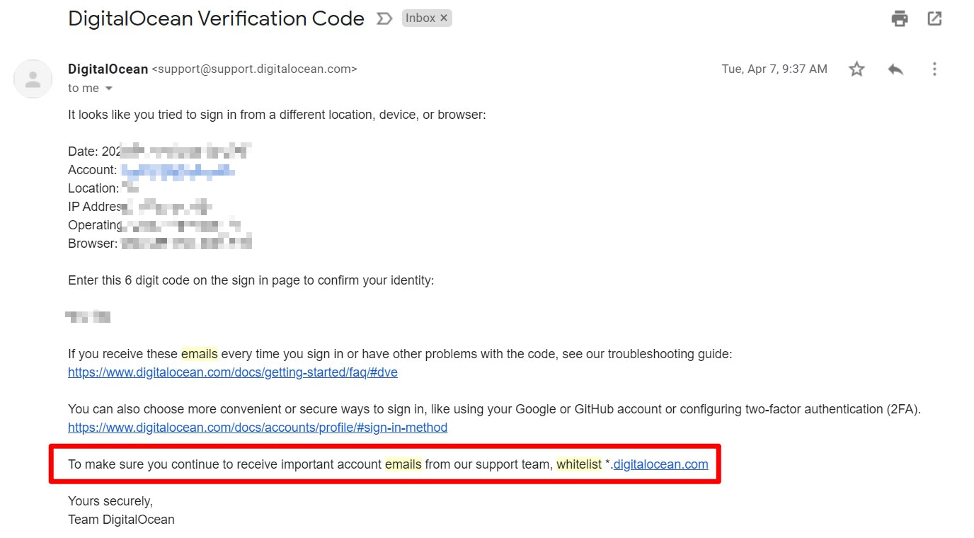 Ask people to whitelist your email to avoid emails going to spam