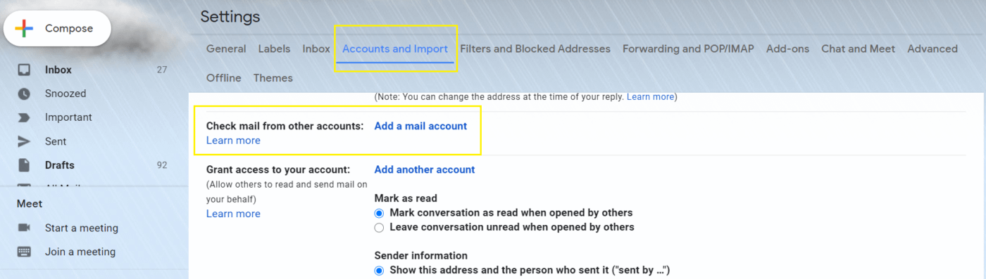 Setting up a custom email address with Gmail