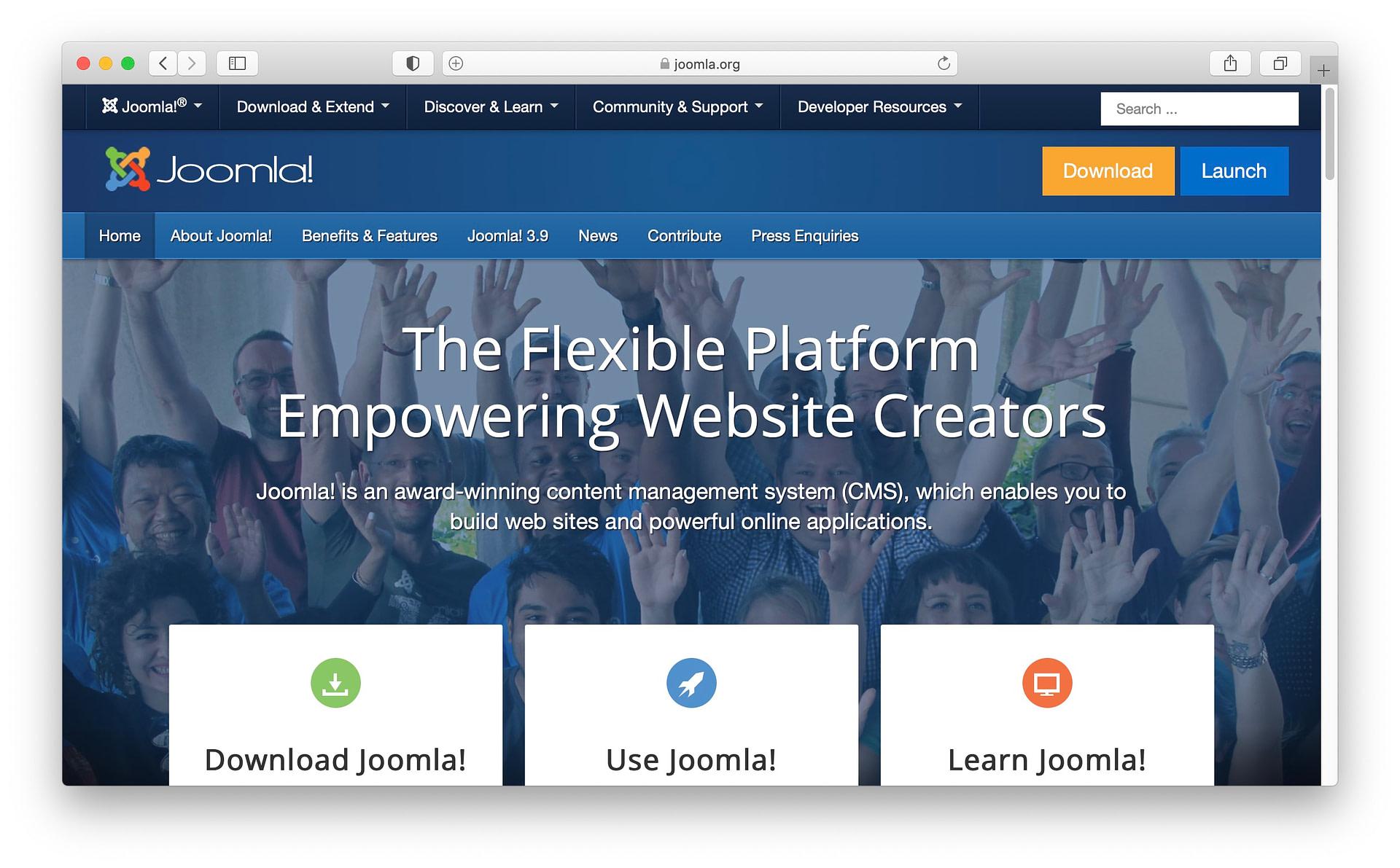 Best WordPress alternatives #3: Joomla