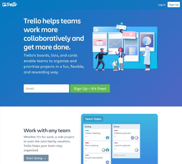 Best project management software: Trello
