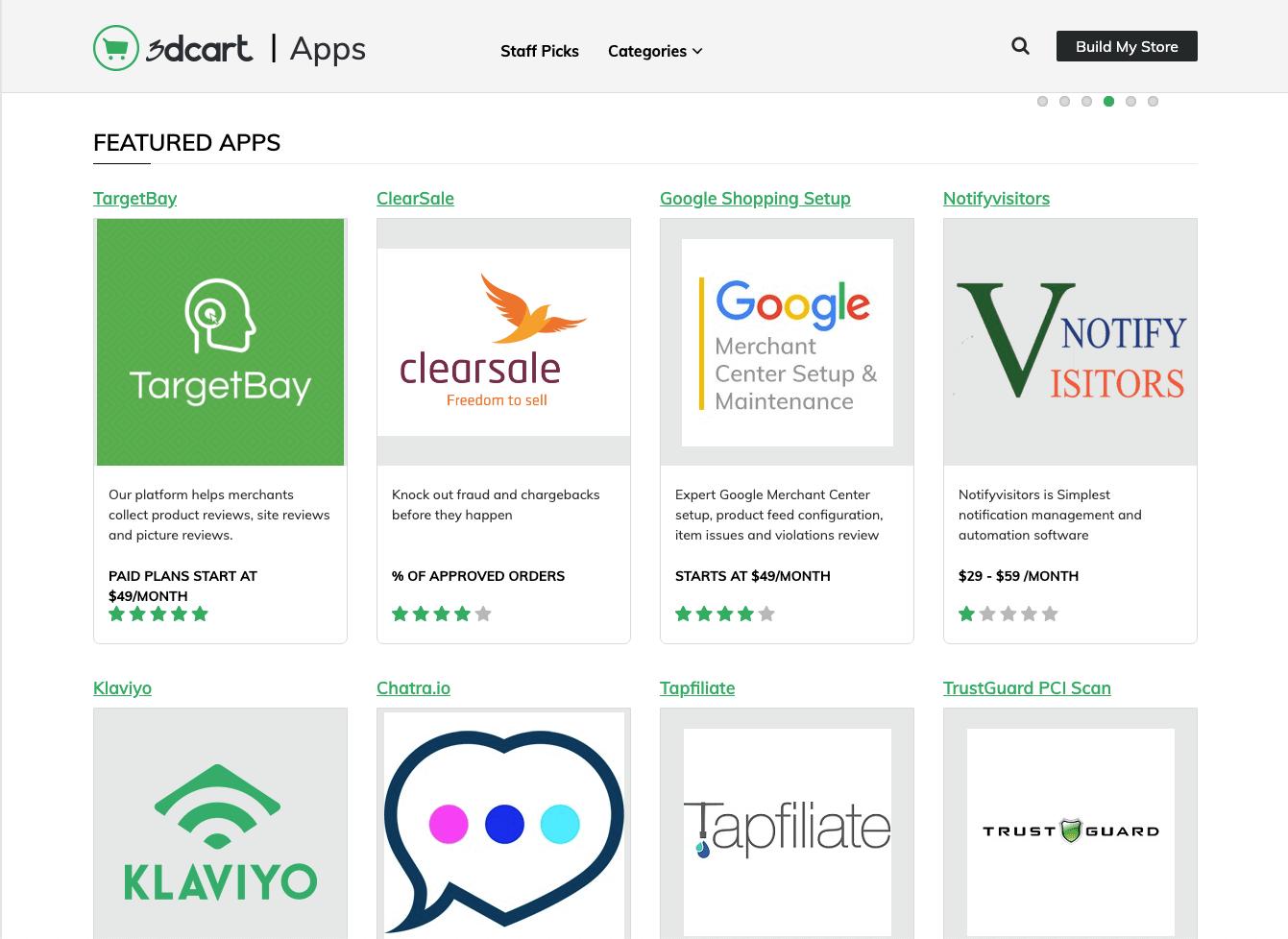 The 3dcart app store