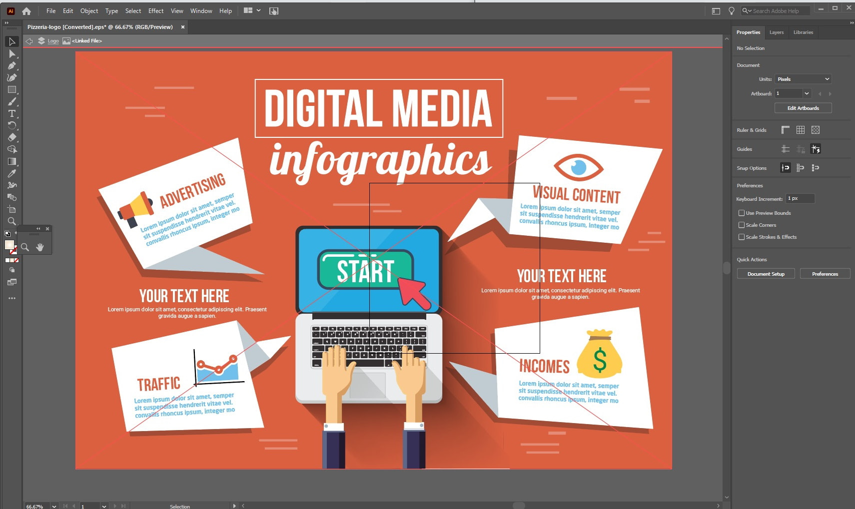 illustrator infographic