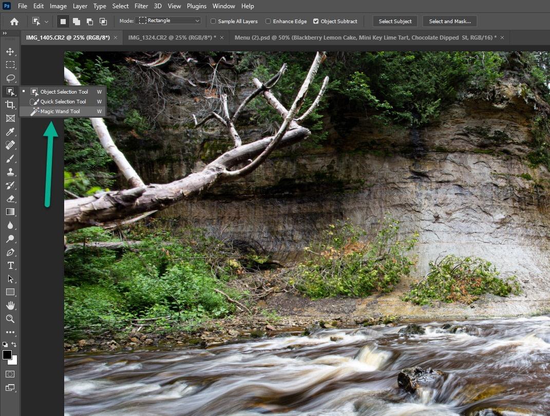 magic wand for photoshop - Photoshop vs Illustrator vs InDesign
