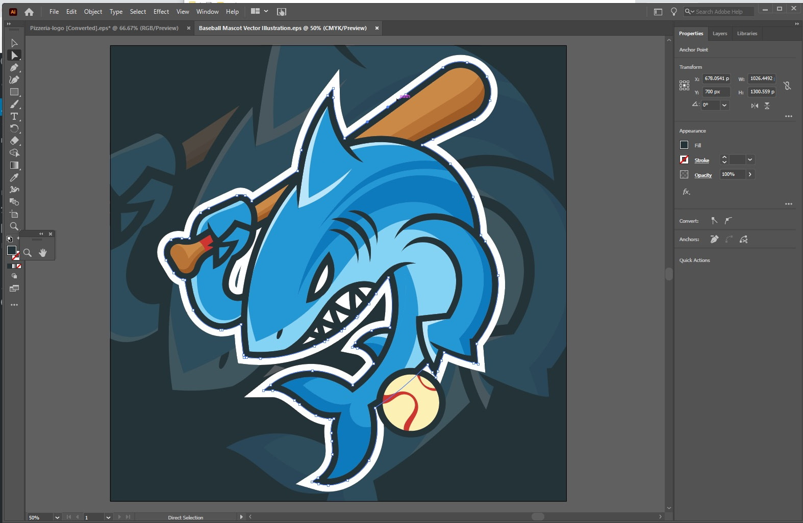 illustrator mascot - Photoshop vs Illustrator vs InDesign