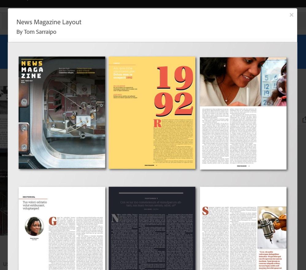 templates - Photoshop vs Illustrator vs InDesign