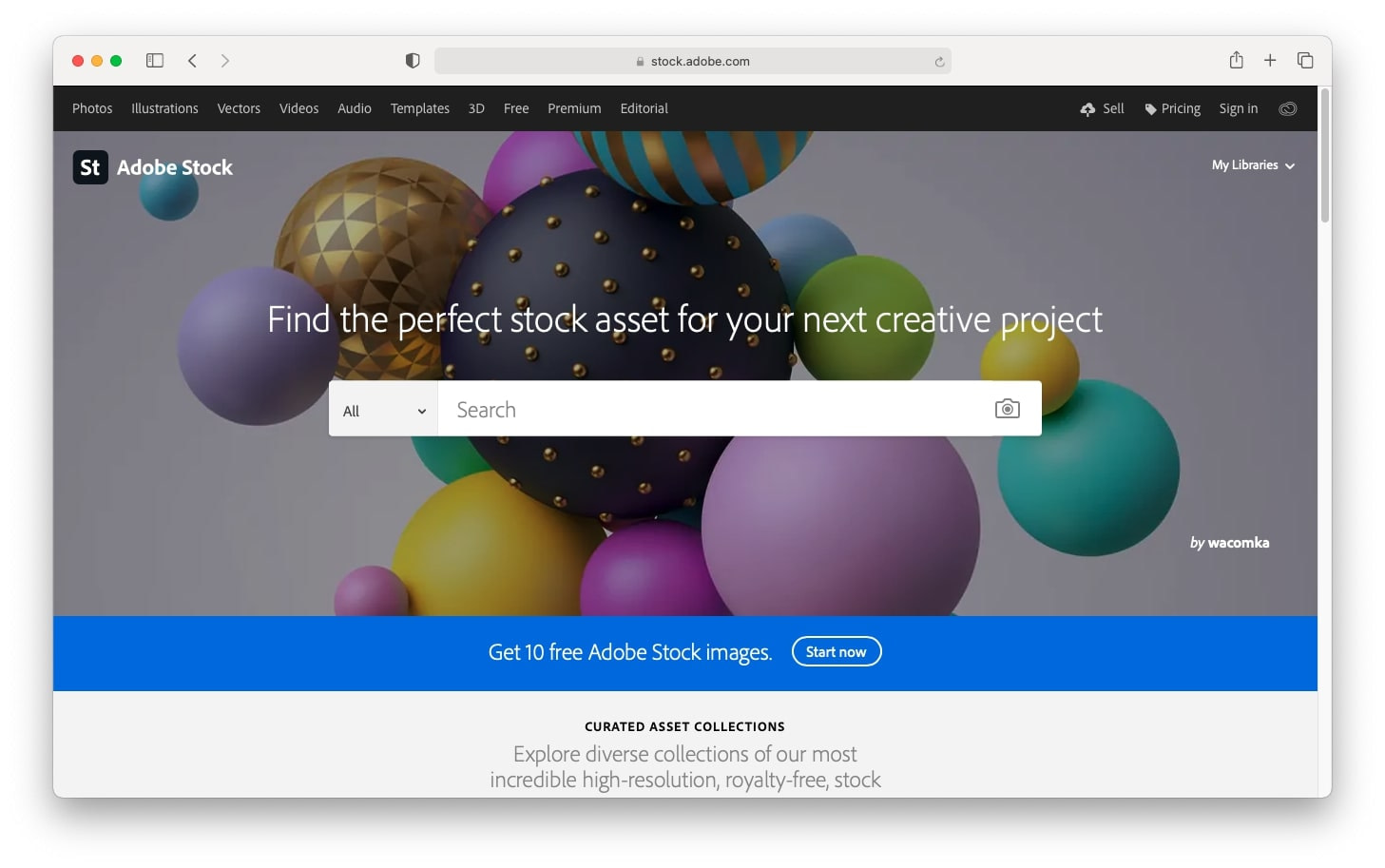 Best gifts for a designer: Adobe Stock subscription
