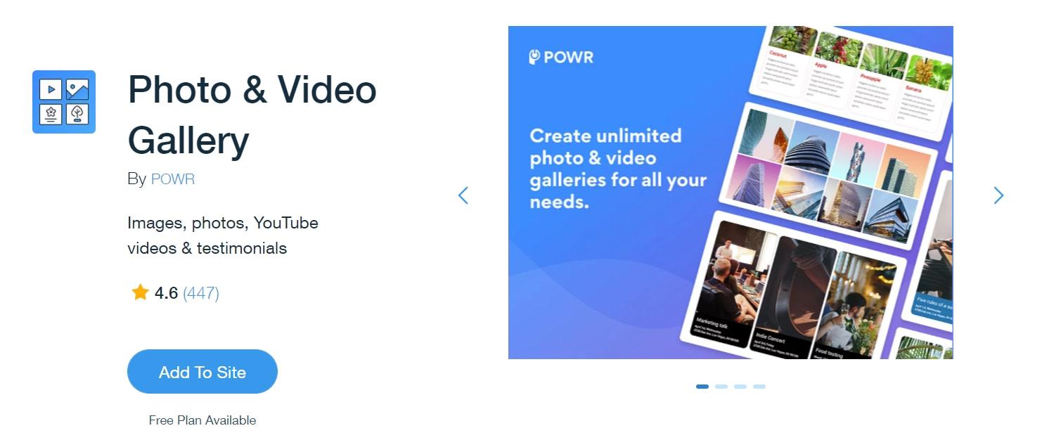 Photo & Video Gallery