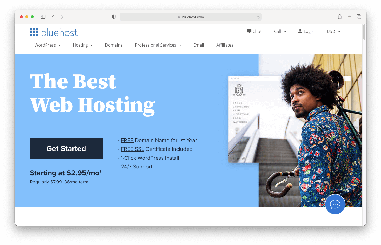 Learn how to design a website using Bluehost