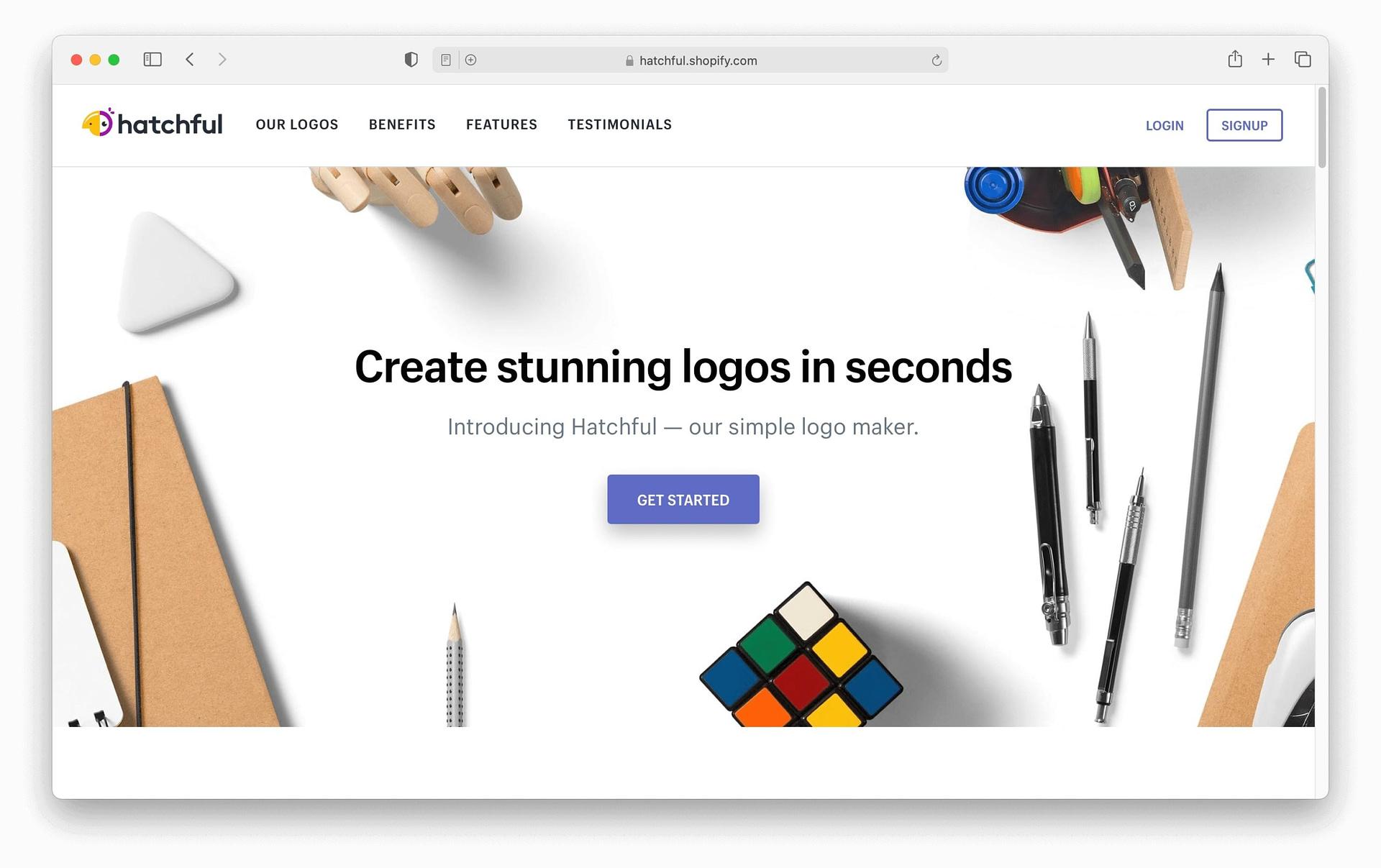 Hatchful logo maker