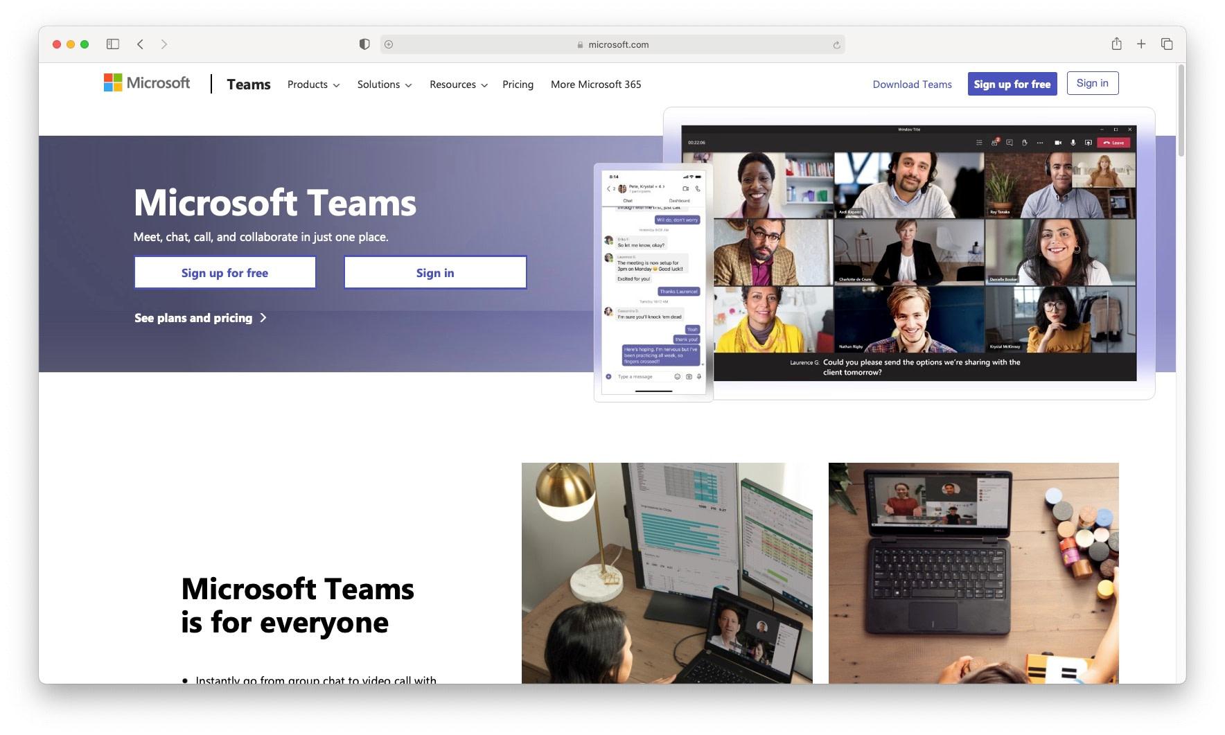 Free Slack alternatives include Microsoft Teams.