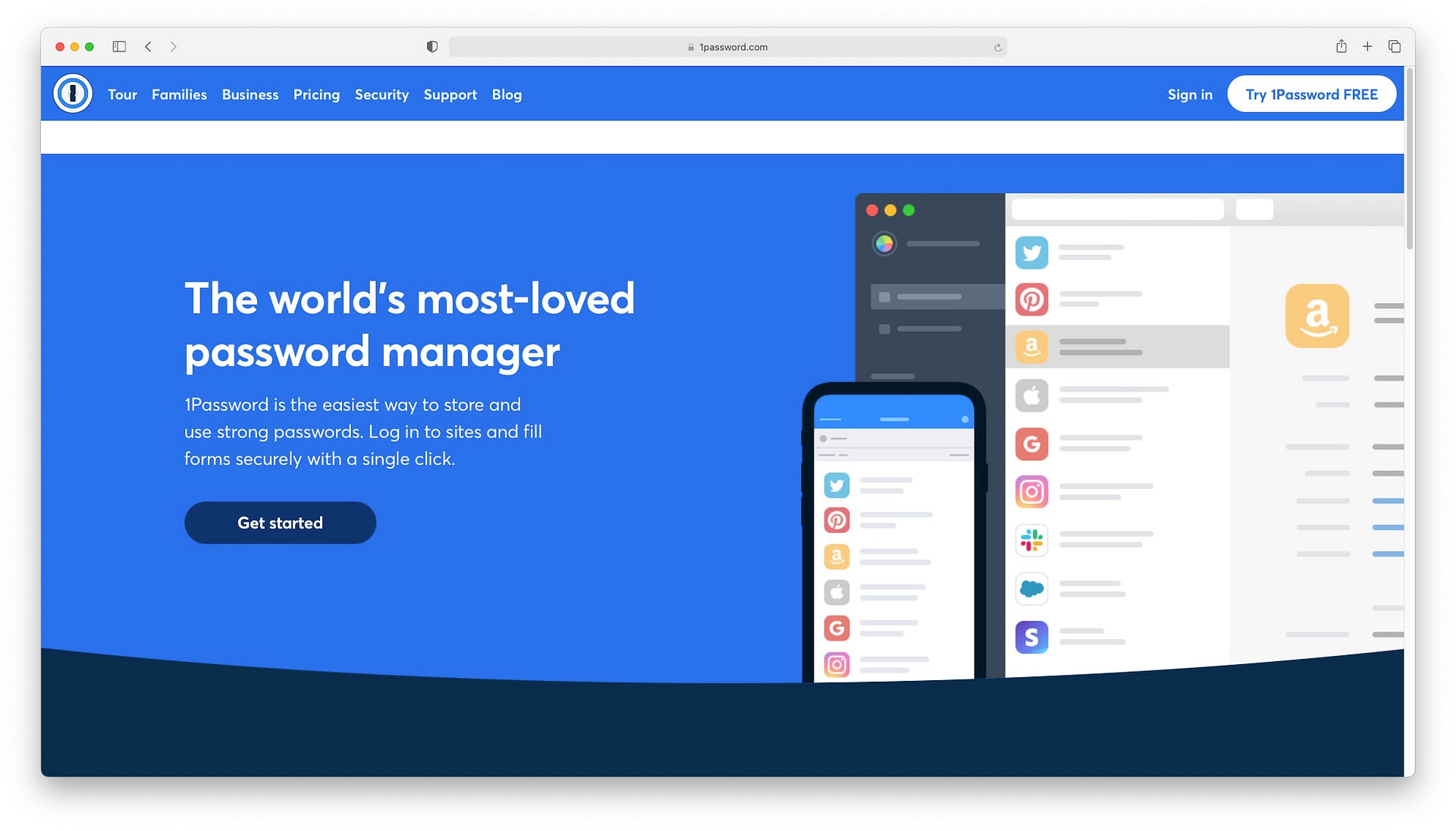 Best productivity apps for Mac: 1Password
