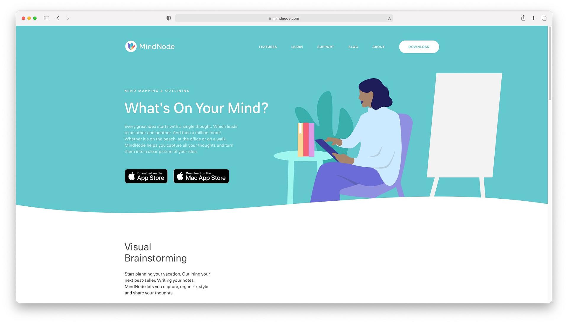 Best productivity apps for mac: MindNode
