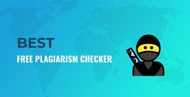 Best free plagiarism detector