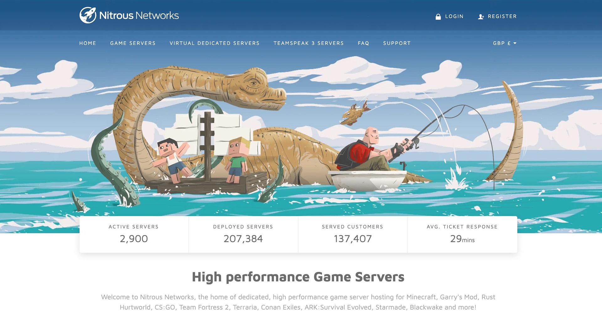 Nitrous Networks - best ARK server hosting