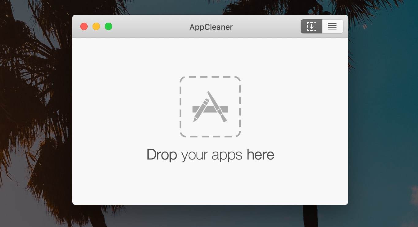 How to speed up Mac: use appcleaner to remove old apps