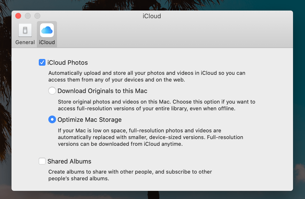 How to speed up Mac: optimize storage for Photos
