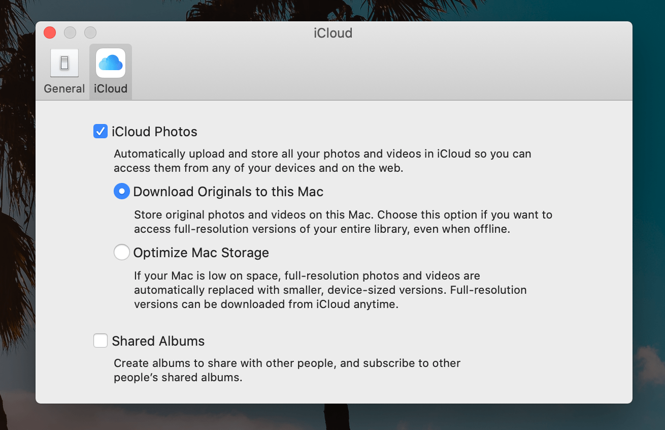 How to speed up Mac: adjust your Photos settings