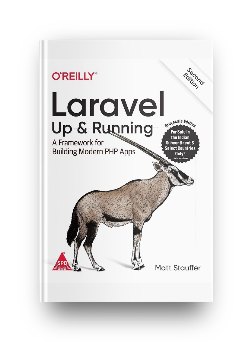 Laravel: Up & Running is one of the best PHP books for learning PHP frameworks
