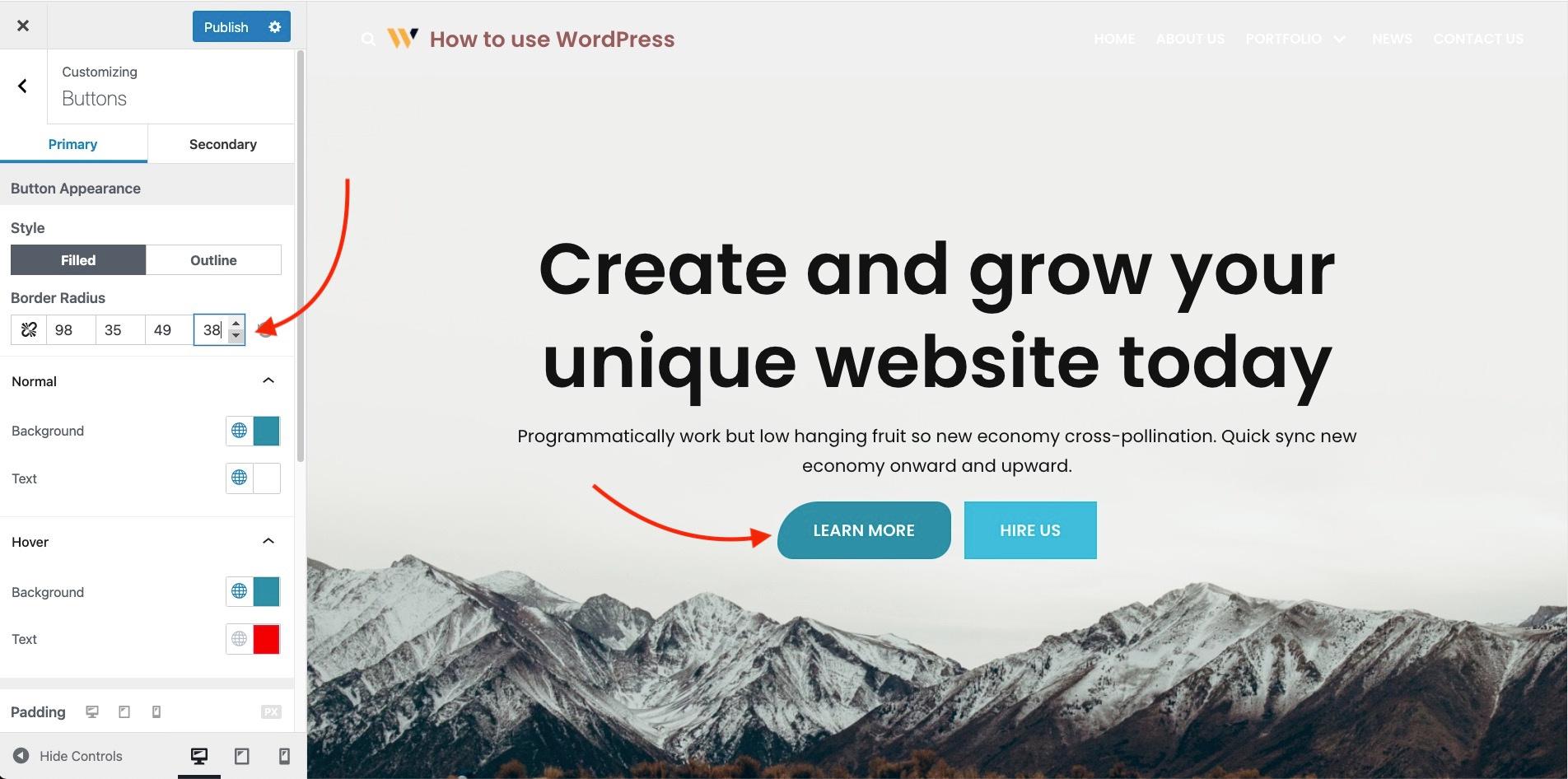 Wix vs WordPress: Customization