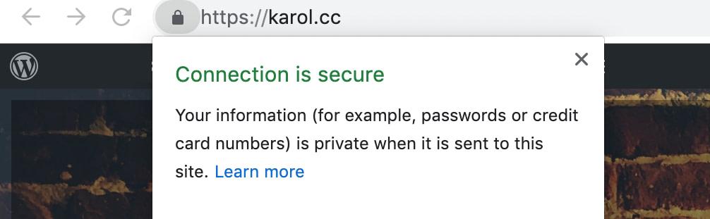 SSL enabled