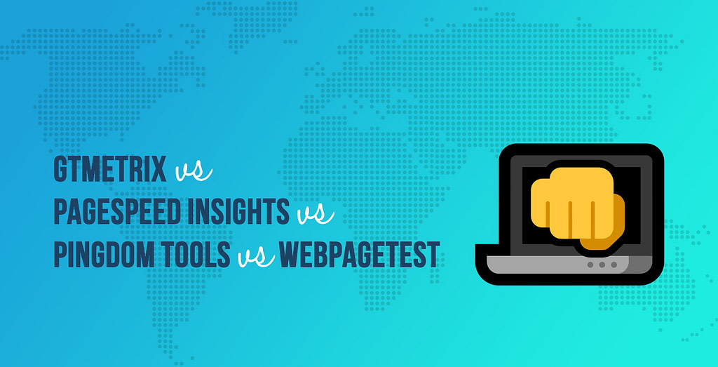 GTmetrix vs PageSpeed Insights vs Pingdom Tools vs WebPageTest