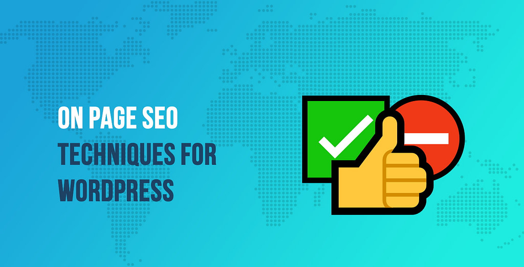 On Page SEO Techniques for WordPress