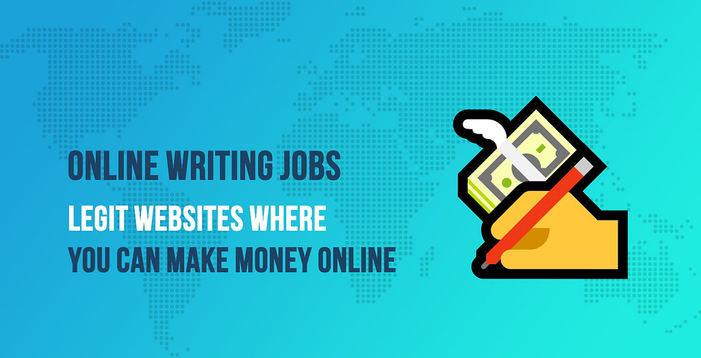 Online Writing Jobs: Websites Offering Part Time Writing Jobs