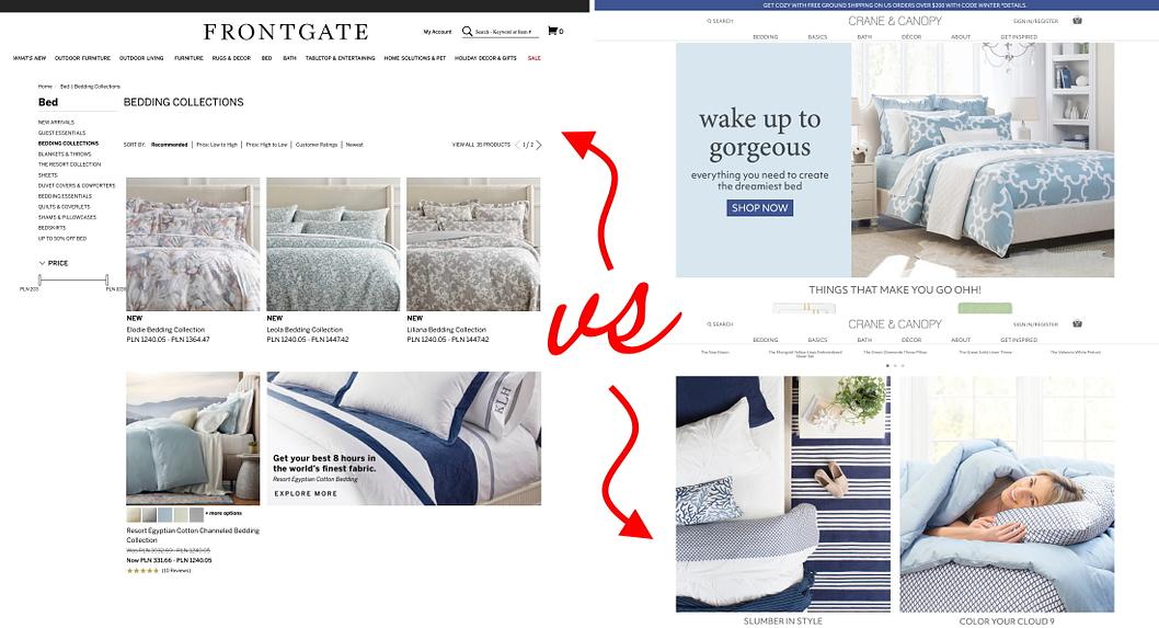 homepage personalizzata