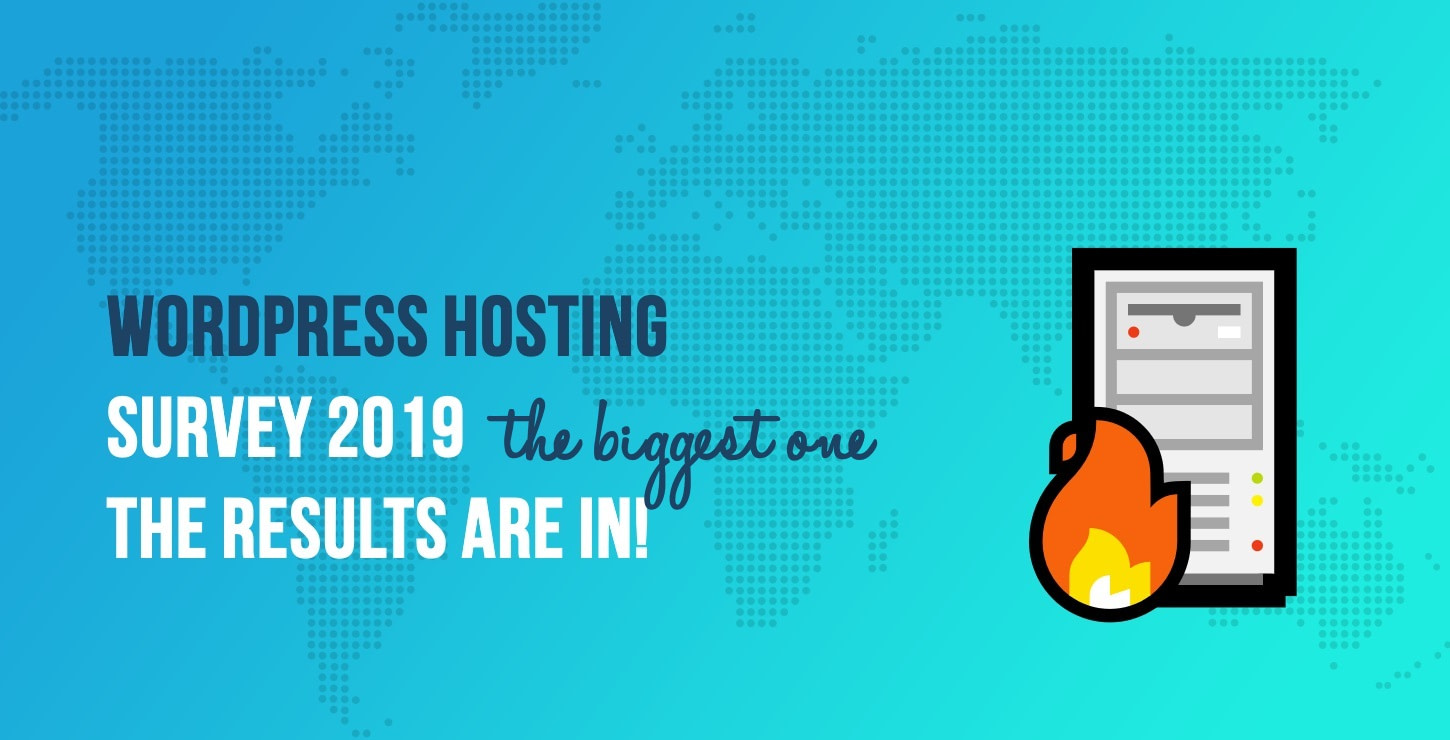 WordPress Hosting Survey 2019