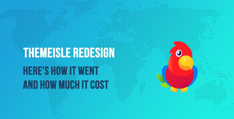 ThemeIsle redesign