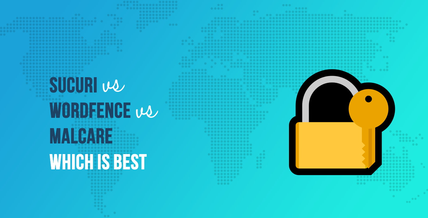 Sucuri vs Wordfence vs MalCare: What's the Best WordPress Security Plugin