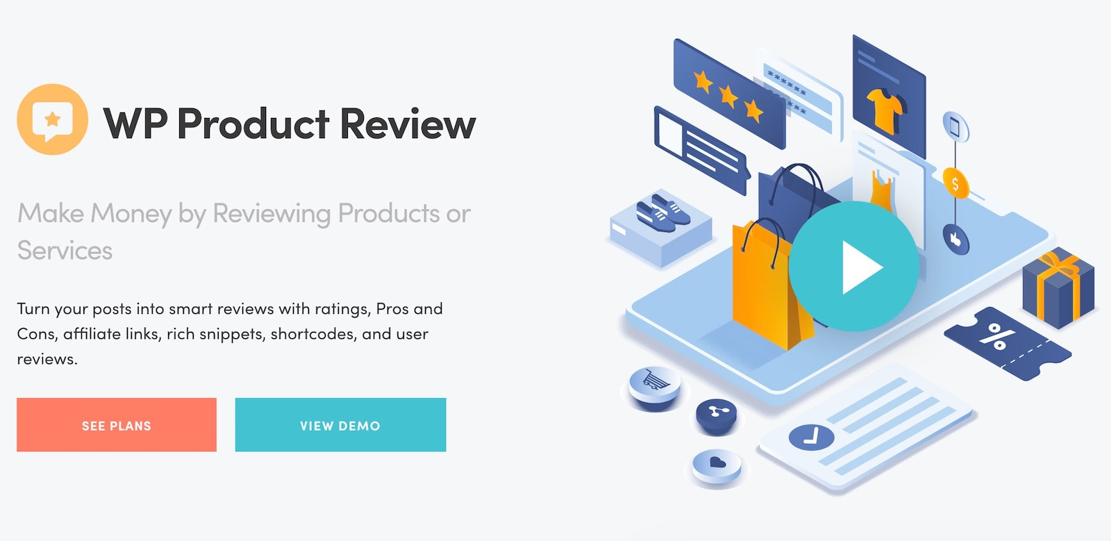 Best WordPress review plugins #1: WP Product Review