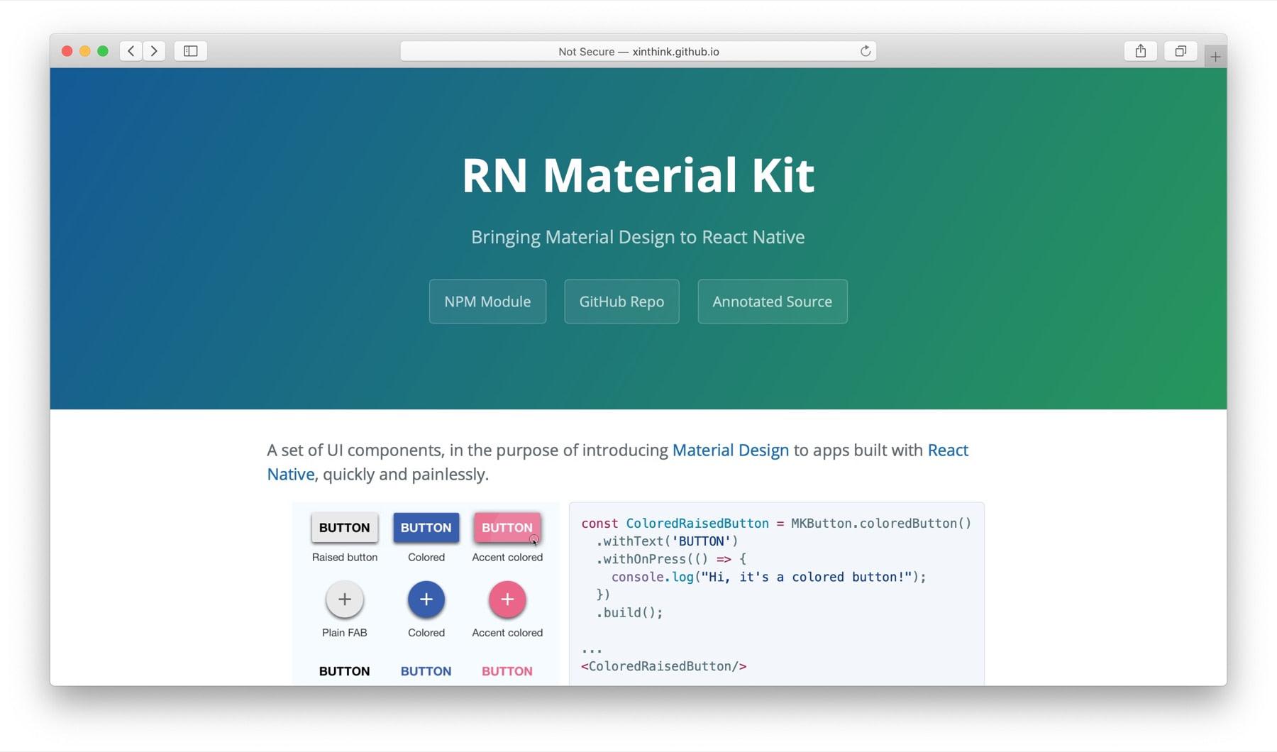 react-native-material-kit