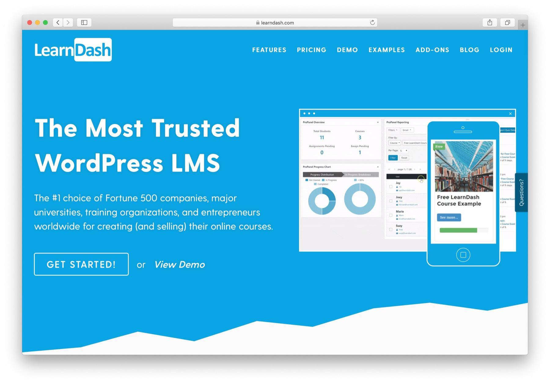 WordPress LMS - LearnDash
