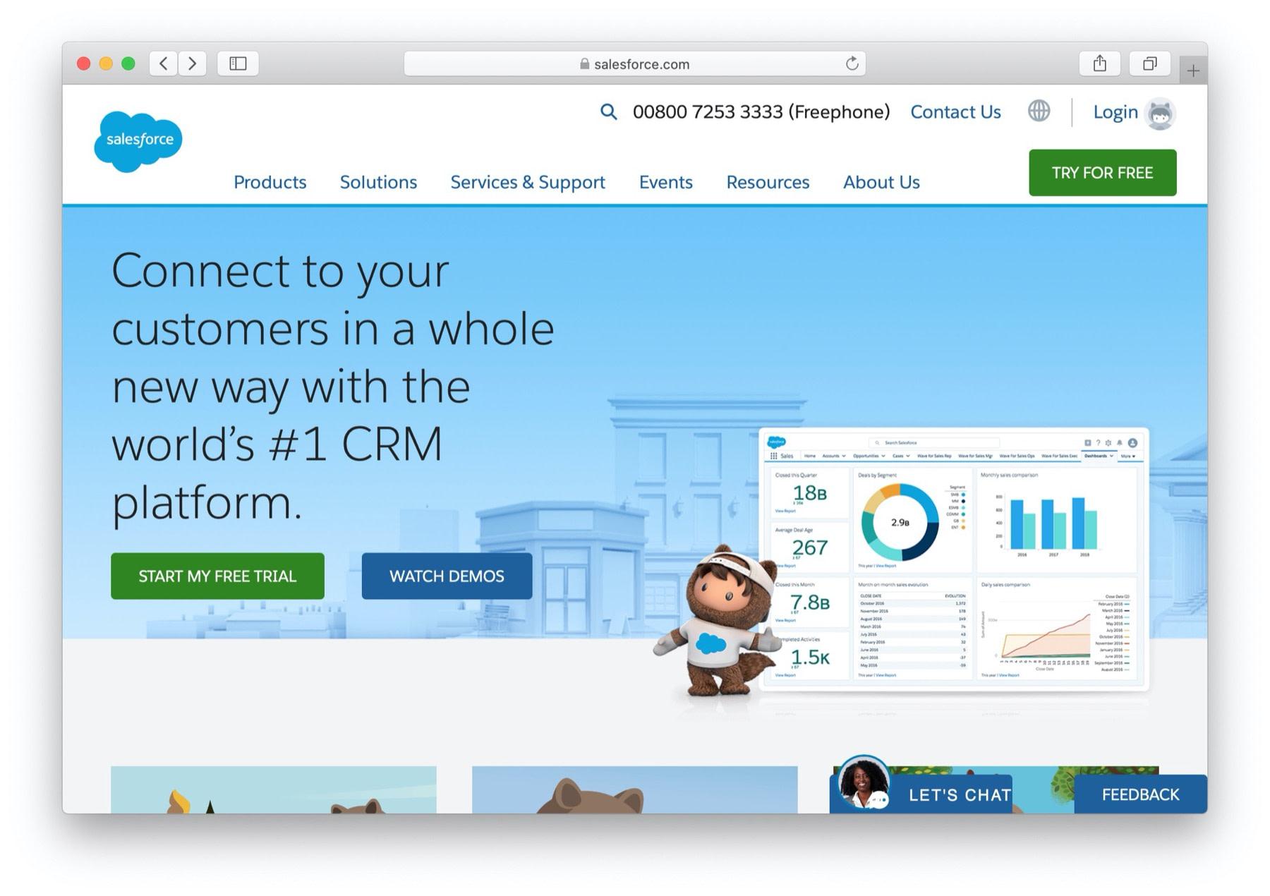 Best CRM software: salesforce