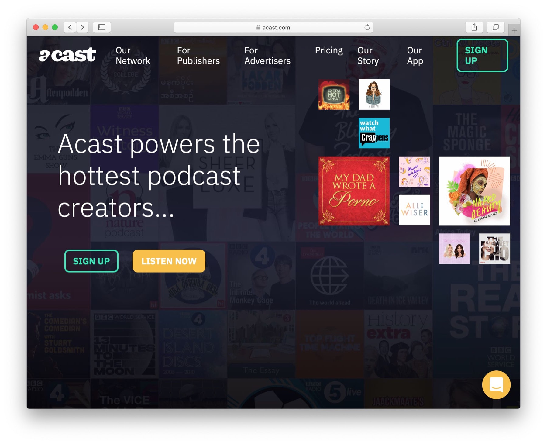 Best podcast hosting #2: acast