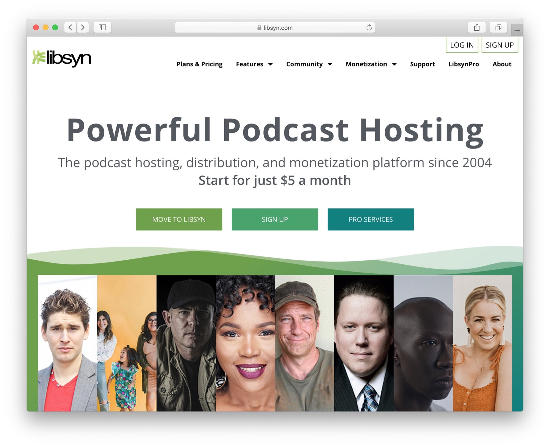 Best podcast hosting #1: libsyn