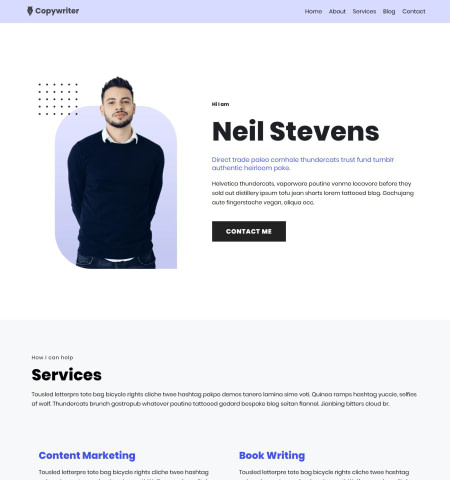 Best Minimalist WordPress Themes: Neve