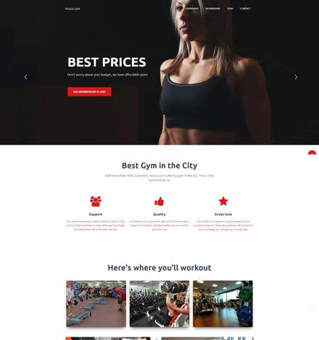 Best Fitness and Lifestyle WordPress Themes: Hestia
