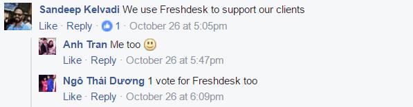 FreshDesk testimonials