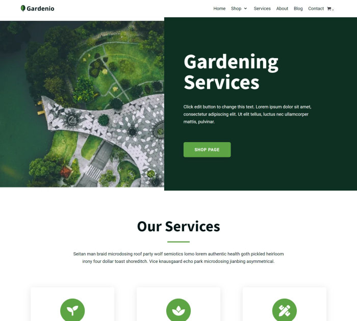 neve gardening